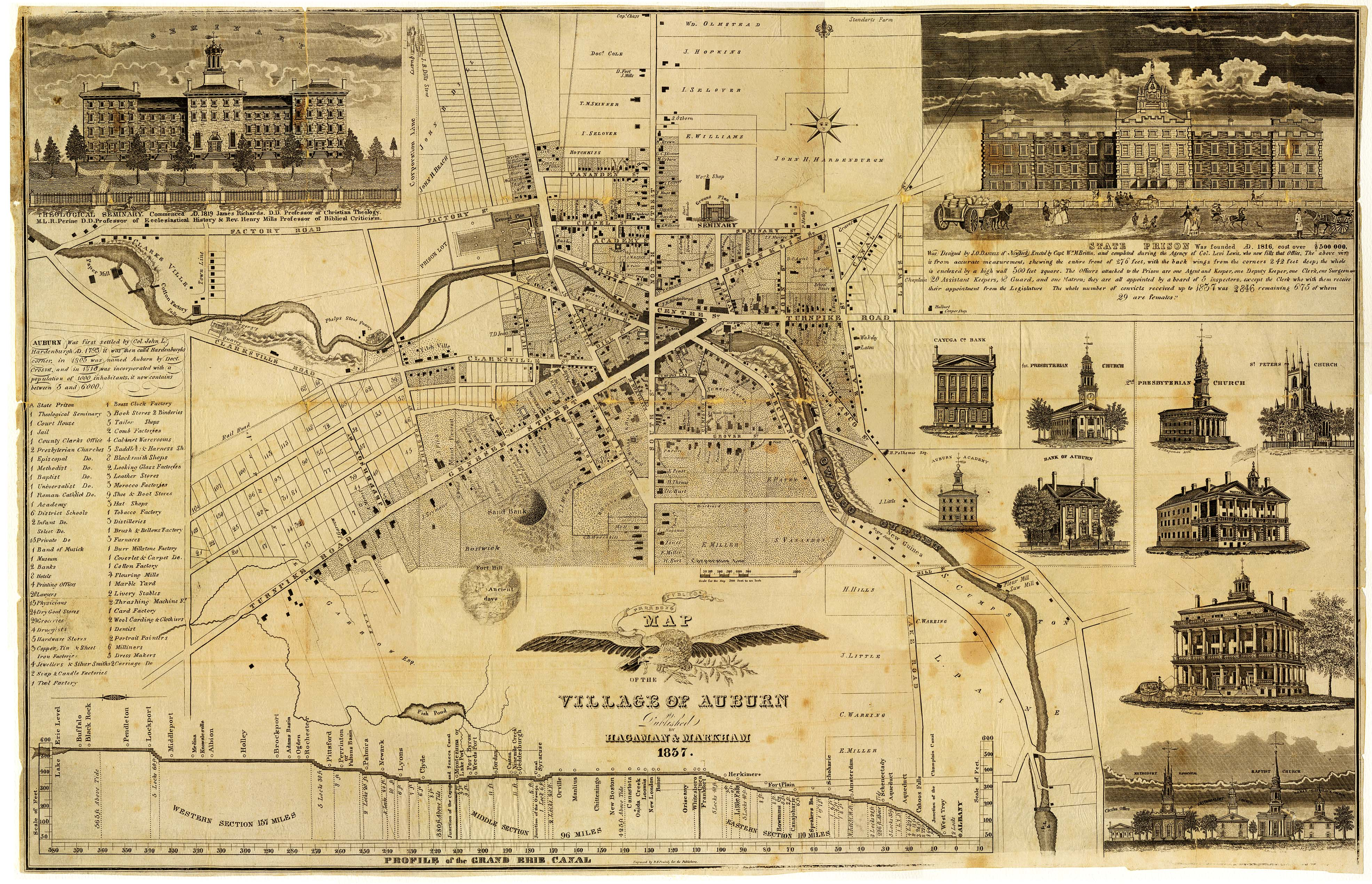 Map Of New York 1800.Cayuga County Nygenweb Project Map Page